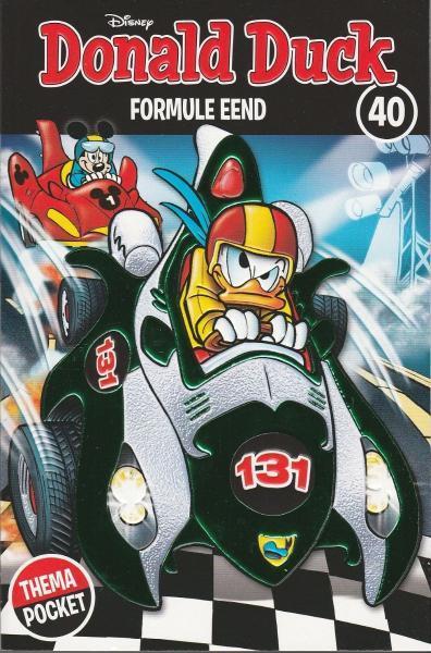 Donald Duck dubbelpocket extra 40 Formule eend