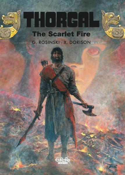 Thorgal (Cinebook/Europe Comics) 27 The Scarlet Fire