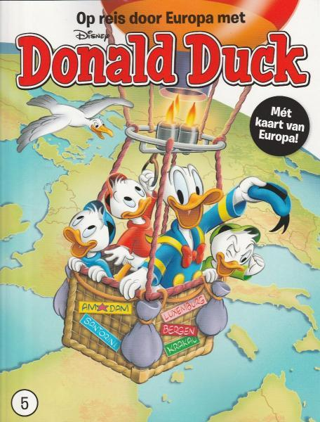 Op reis door Europa met Donald Duck 5 Deel 5