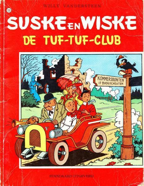 Suske en Wiske 133 De Tuf-Tuf-club