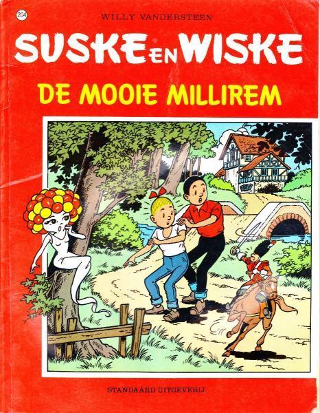Suske en Wiske 204 De mooie Millirem