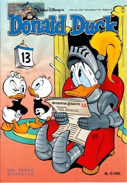 Donald Duck weekblad - 1996 (jaargang 45) 13 Nummer 13