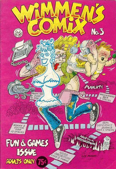 Wimmen's Comix 3 Number 3