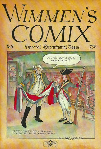 Wimmen's Comix 6 Number 6