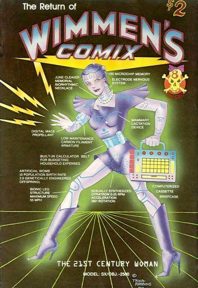 Wimmen's Comix 8 Number 8