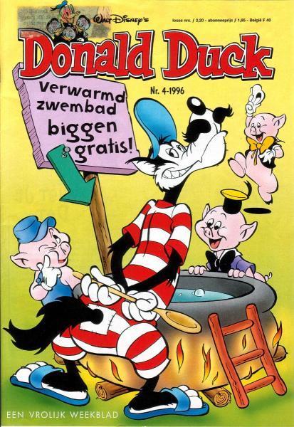 Donald Duck weekblad - 1996 (jaargang 45) 4 Nummer 4