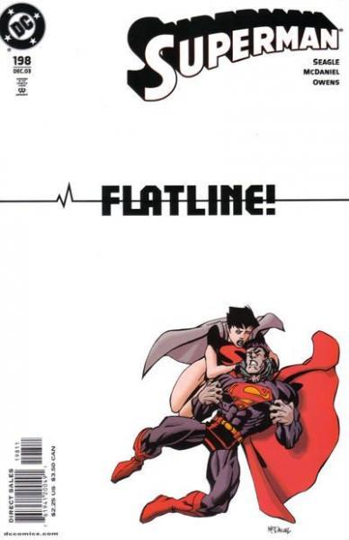 superman temp - te verplaatsen naar hoofdreeks A198 Not Dead Again