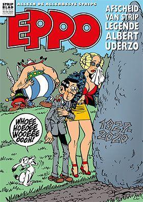 Eppo - Stripblad 2020 (Jaargang 12) 8 Nummer 8