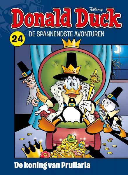 Donald Duck: De spannendste avonturen 24 De koning van Prullaria