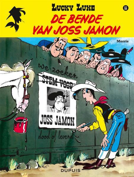 Lucky Luke (Nieuw uiterlijk - Dupuis/Lucky Comics) 11 De bende van Joss Jamon