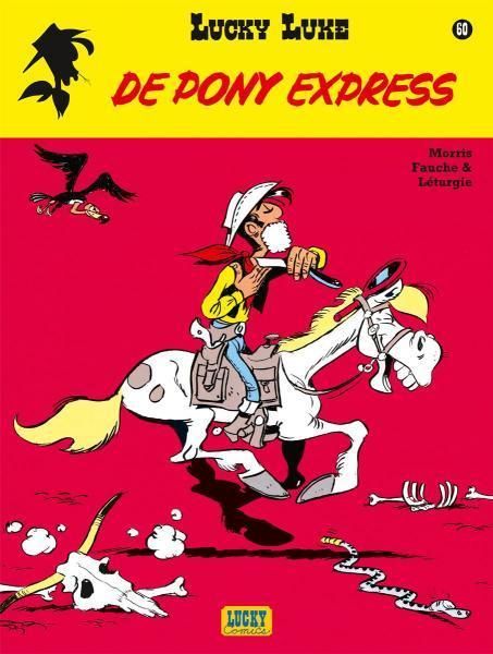 Lucky Luke (Nieuw uiterlijk - Dupuis/Lucky Comics) 60 De pony express