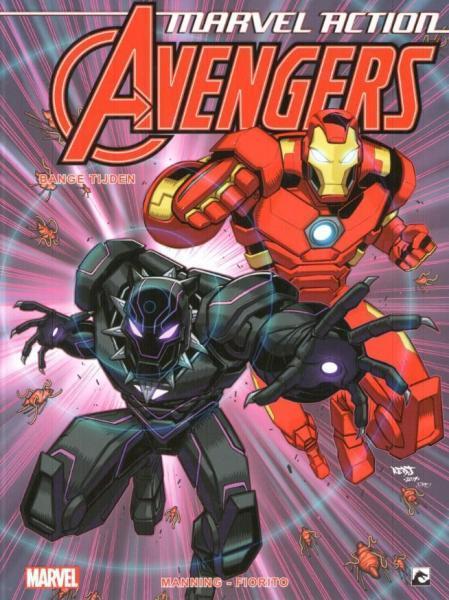 Marvel Action Avengers (Dark Dragon) 3 Bange tijden
