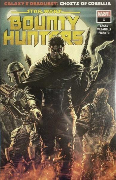 Star Wars: Bounty Hunters (Marvel) 1 Galaxy's Deadliest, Part 1: Ghosts of Corellia