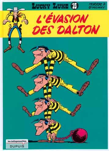 Lucky Luke (Dupuis) 15 L'évasion des Dalton