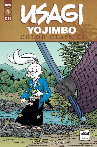 Usagi Yojimbo Color Classics 1 Issue #1