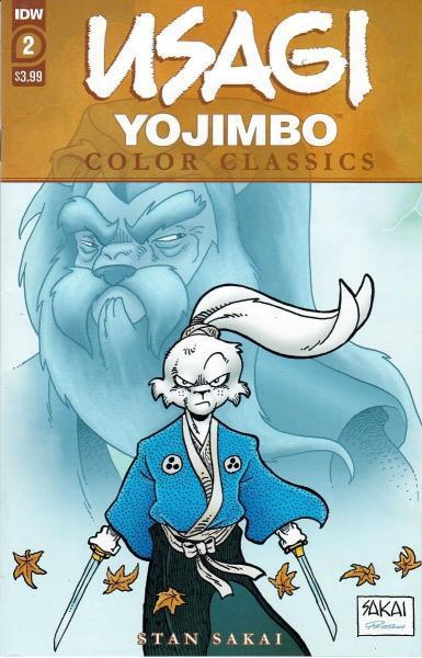 Usagi Yojimbo Color Classics 2 Issue #2