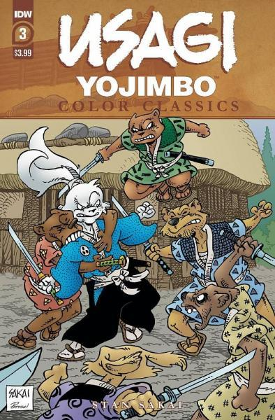 Usagi Yojimbo Color Classics 3 Issue #3