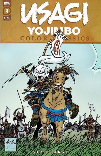 Usagi Yojimbo Color Classics 4 Issue #4