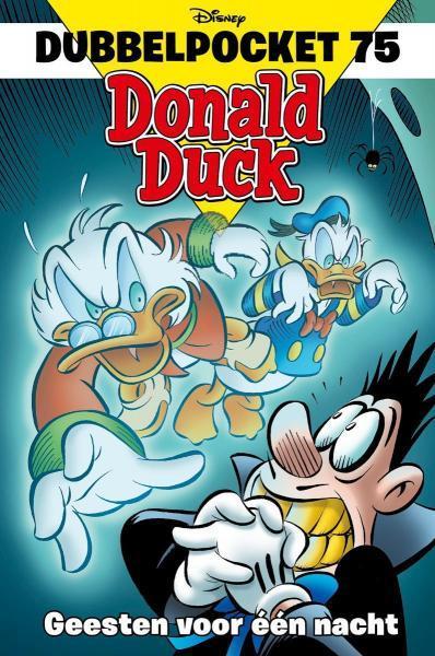 Donald Duck dubbel pocket 75 Geesten voor één nacht