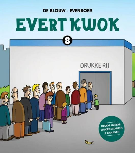 Evert Kwok 8 Drukke rij