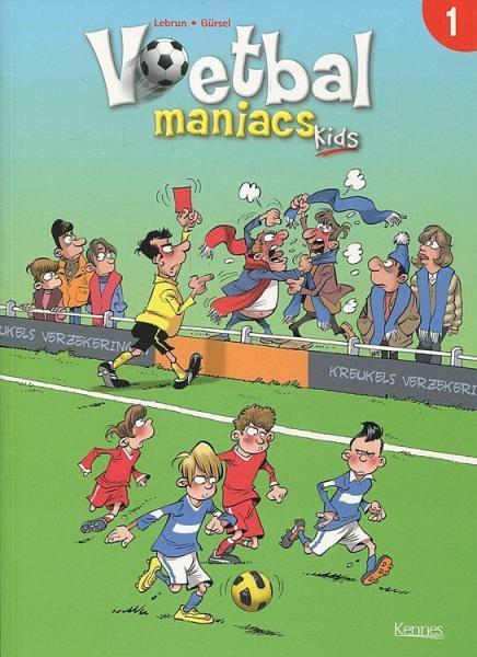 Voetbal maniacs kids 1 Deel 1