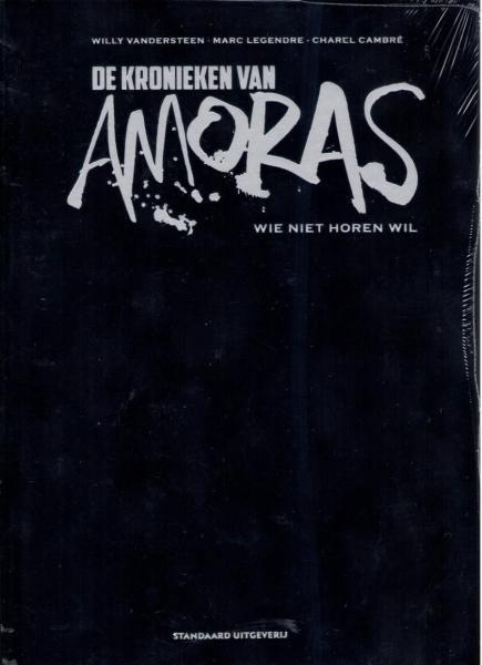 De kronieken van Amoras 7 Wie niet horen wil