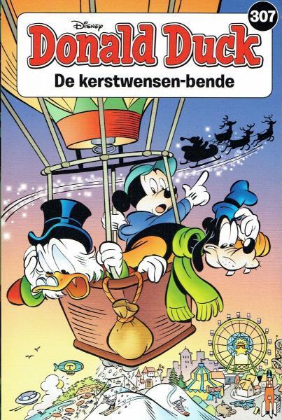 Donald Duck pocket (3e reeks) 307 De kerstwensen-bende