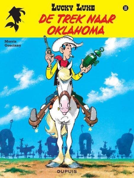 Lucky Luke (Nieuw uiterlijk - Dupuis/Lucky Comics) 14 De trek naar Oklahoma