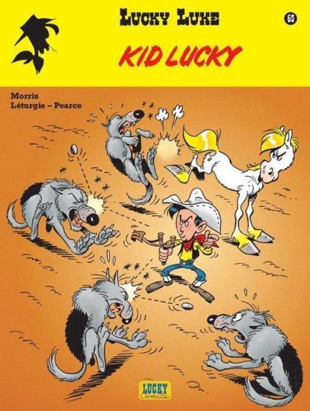 Lucky Luke (Nieuw uiterlijk - Dupuis/Lucky Comics) 65 Kid Lucky