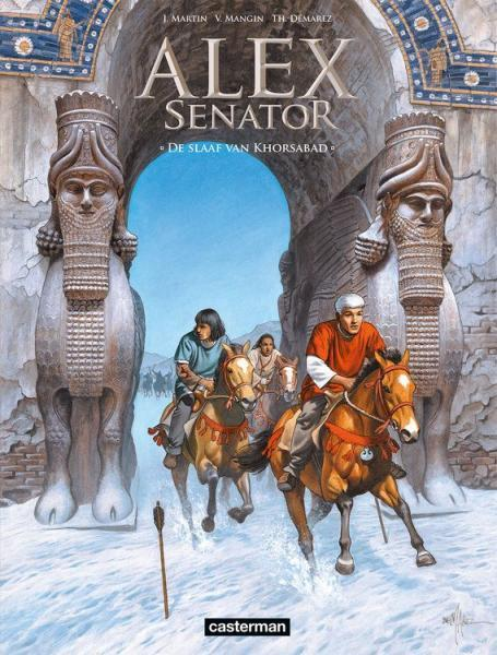 Alex Senator 11 De slaaf van Khorsabad