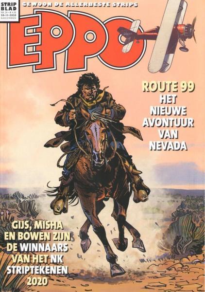 Eppo - Stripblad 2020 (Jaargang 12) 24 Nummer 24