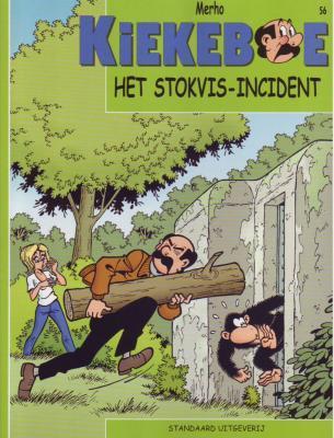 De Kiekeboes 56 Het Stokvis-incident