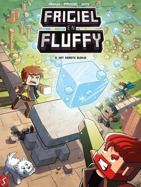 Frigiel en Fluffy 3 Het eerste blokje