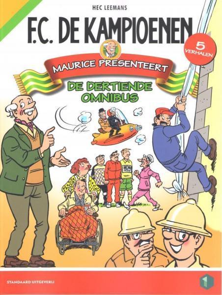 F.C. De Kampioenen INT OM13 Maurice presenteert de dertiende omnibus