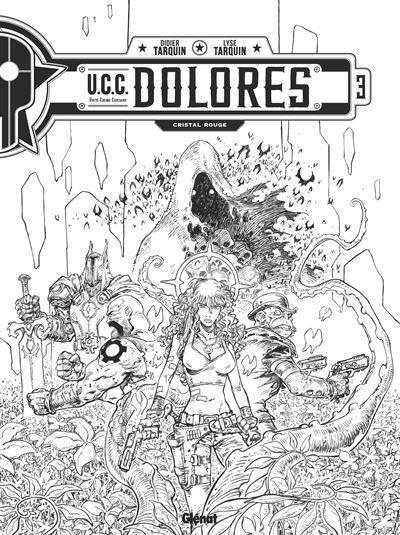 U.C.C. Dolores 3 Cristal rouge