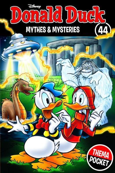 Donald Duck dubbelpocket extra 44 Mythes & mysteries