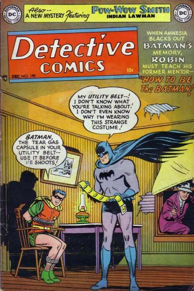 detective comics temp - te verplaatsen naar hoofdreeks 190 Issue #190