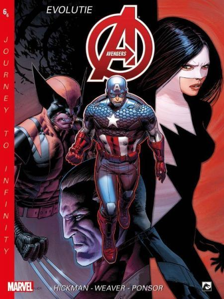 New Avengers: Journey to Infinity (Dark Dragon) 6 Evolutie, deel 2
