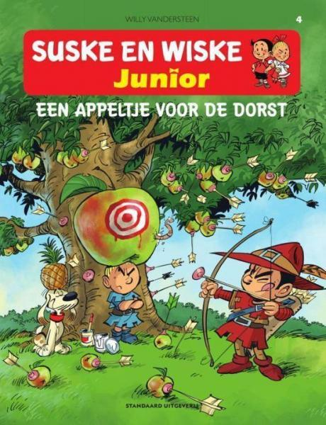Suske en Wiske junior 4 Een appeltje voor de dorst