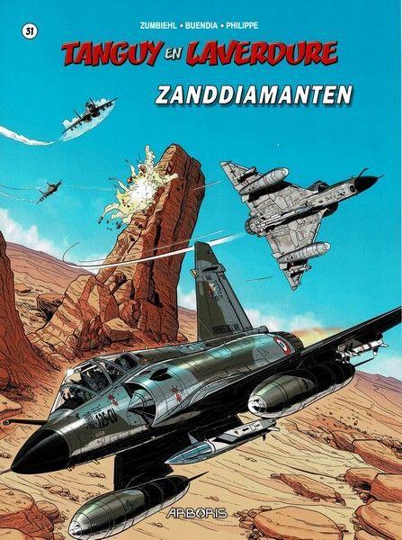Tangy en Laverdure (Dargaud/Lombard/Oberon) 31 Zanddiamanten