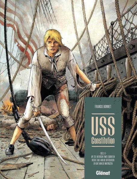USS Constitution 2 Op zee heersen twee soorten recht