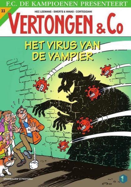 Vertongen en Co 33 Het virus van de vampier