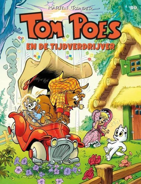 Tom Poes (Cliché) 10 Tom Poes en de tijdverdrijver