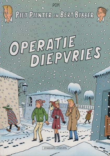 Piet Pienter en Bert Bibber 35 Operatie diepvries