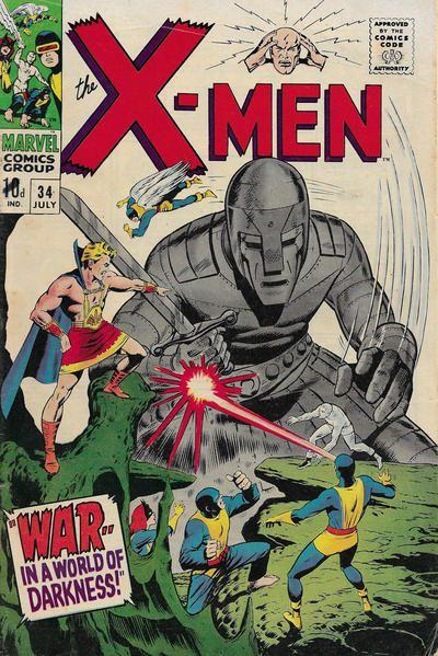 The Uncanny X-Men 34 War - In a World of Darkness