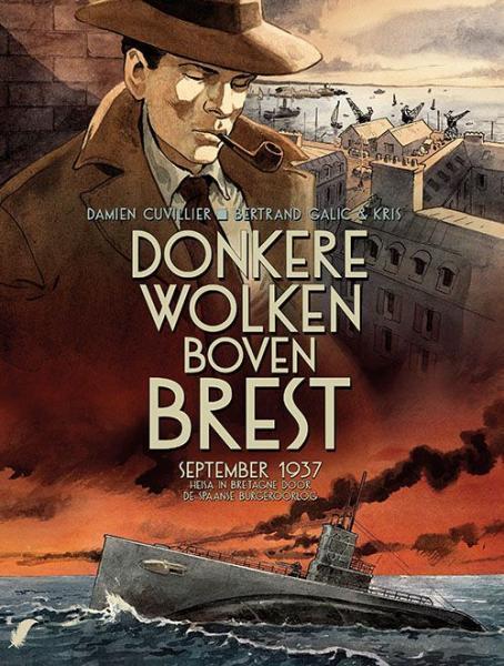 Donkere wolken boven Brest 1 September 1937