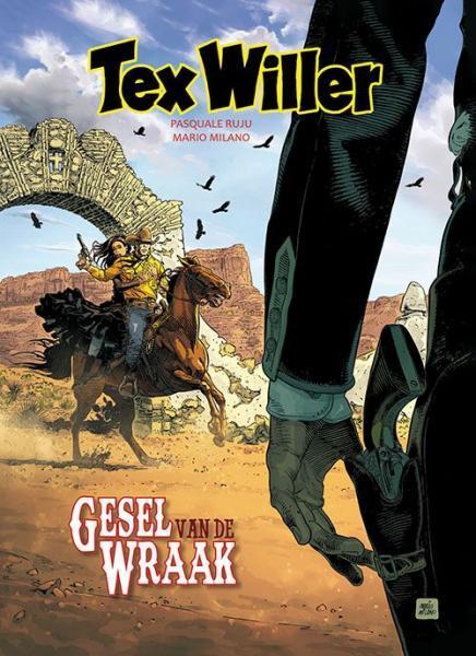 Tex Willer (Hum!) 10 Gesel van de wraak