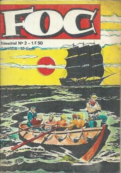 Foc (Jeunesse et Vacances) 2 L'aigle des 7 mers - A la recherche des naufr.