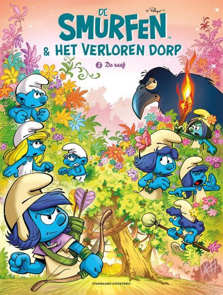 De Smurfen en het verloren dorp 3 De raaf