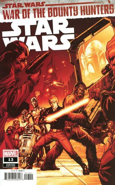 Star Wars (Marvel) B13 War of the Bounty Hunters, Prelude: The Hunt for Han Solo